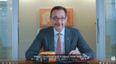 Bonnes fêtes de fin d'année 2019
