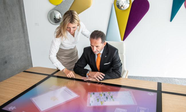 Table digitale Domenech + Luyet 09