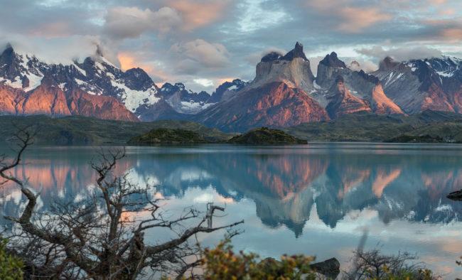 Lac Pehoé, Torres del Paine