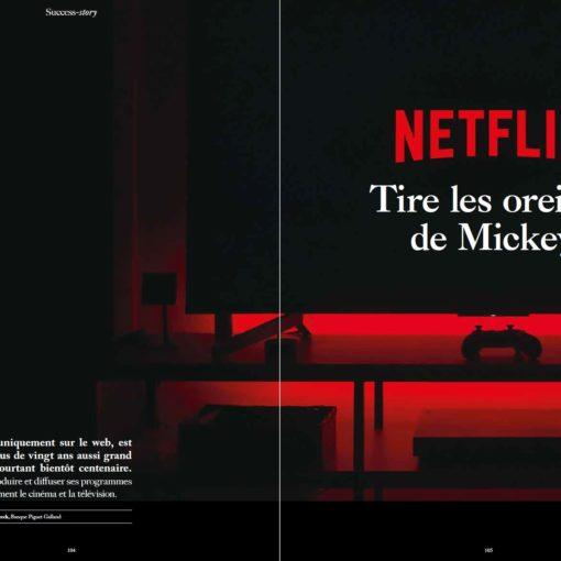 Netflix tire les oreilles de Mickey